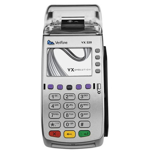 Verifone Vx520 CTLS Ethernet