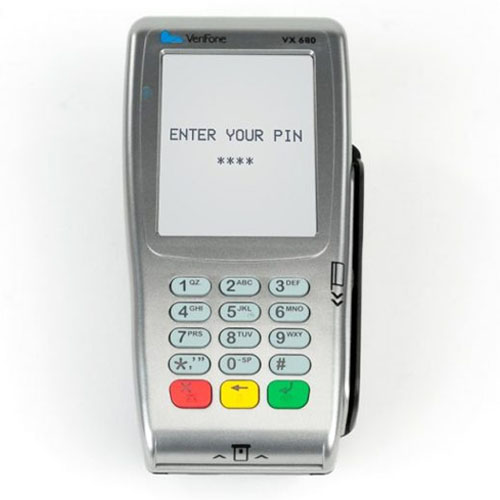 Verifone VX680 CTLS GPRS